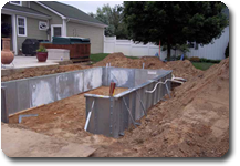 Sun and Fun Pools, Michigan fiberglass pool builder vinyl installation